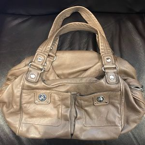 Marc by Marc Jacobs taupe leather handbag